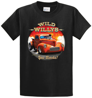Wild Willys Printed Tee Shirt