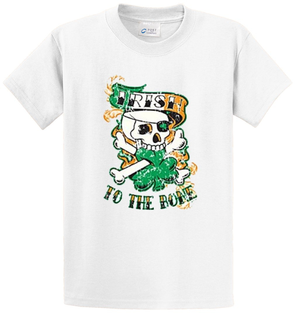 Irish To The Bone Printed Tee Shirt-1