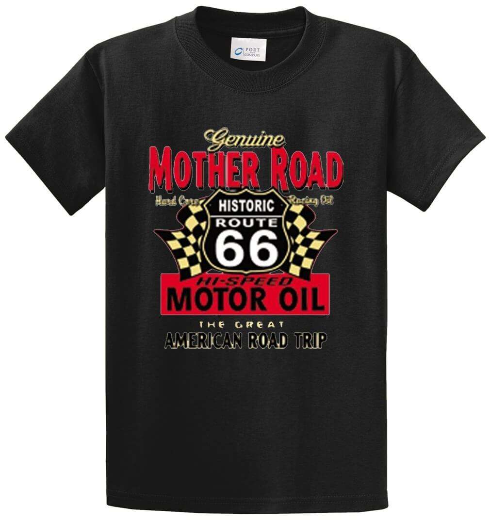 Genuine Mother Road Printed Tee Shirt-1