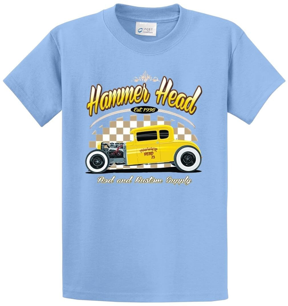 Hammer Head Printed Tee Shirt-1