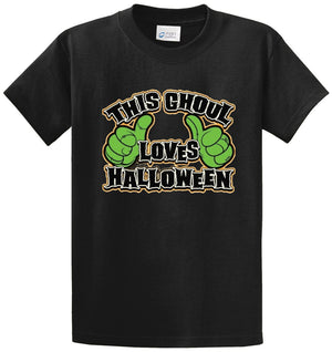 Ghoul Loves Halloween Printed Tee Shirt