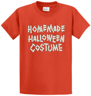 Homemade Halloween Costume Printed Tee Shirt