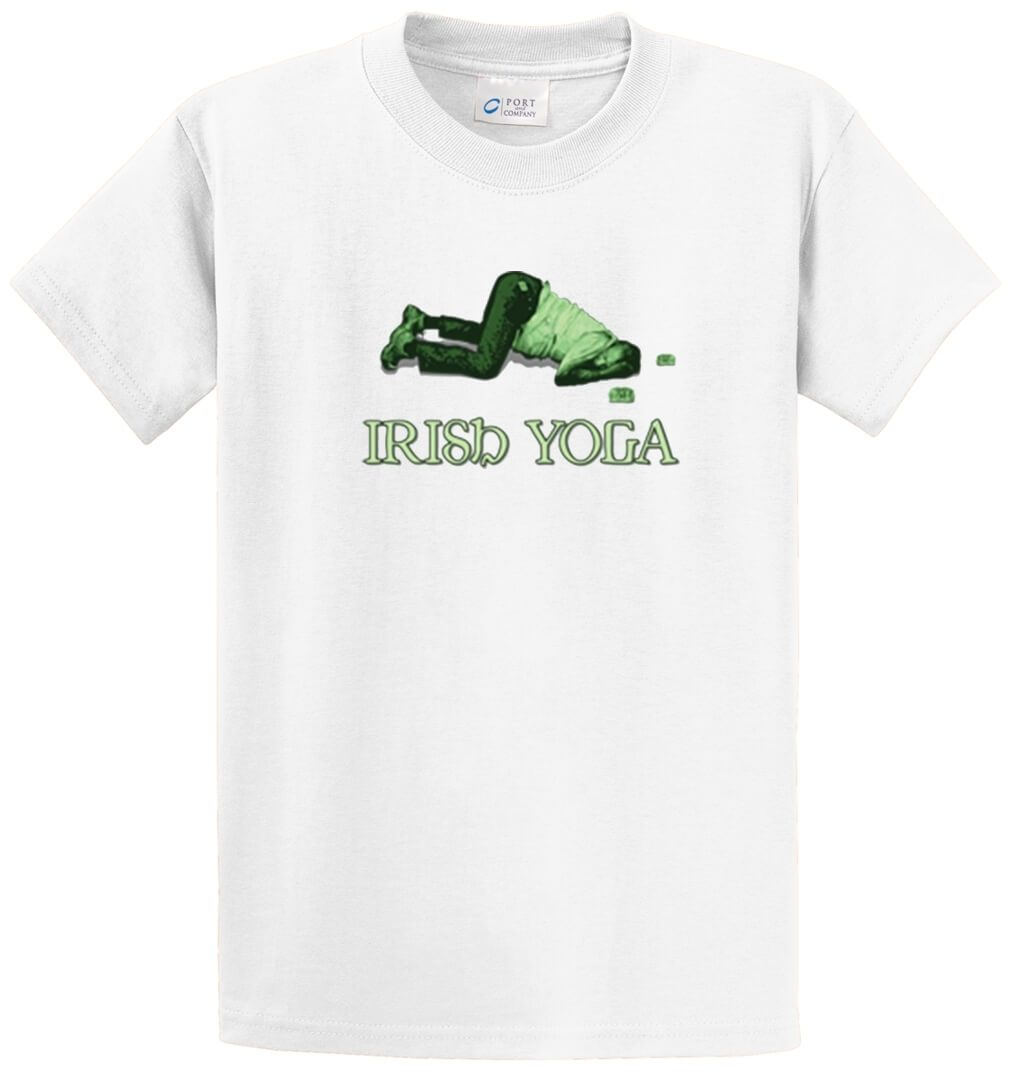Irish Yoga Printed Tee Shirt-1