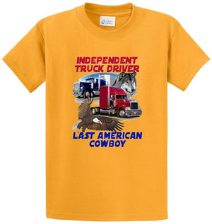 Independent Truck Driver  Printed Tee Shirt