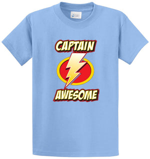 Captain Awesome Printed Tee Shirt