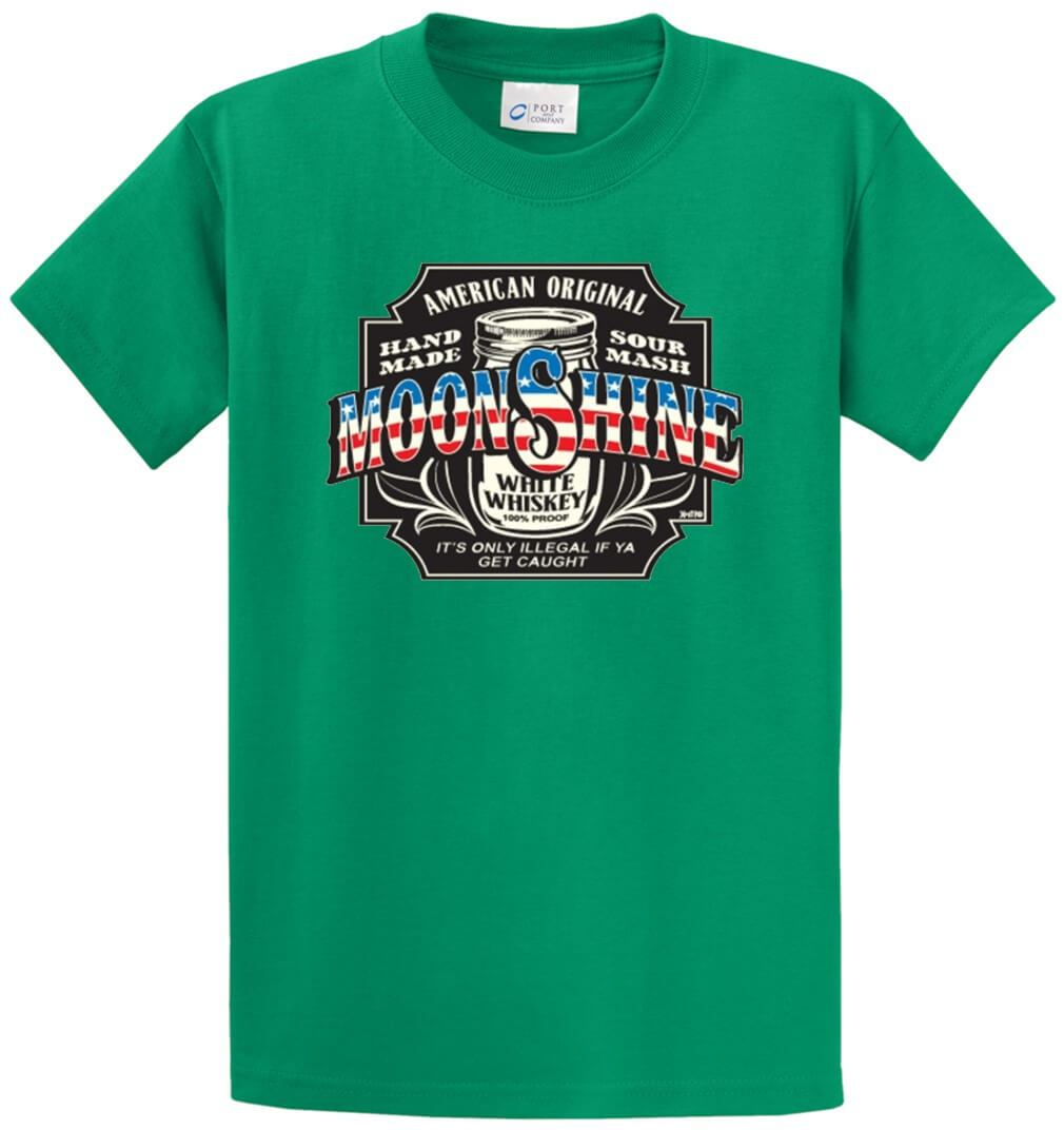 American Original Moonshine Printed Tee Shirt-1