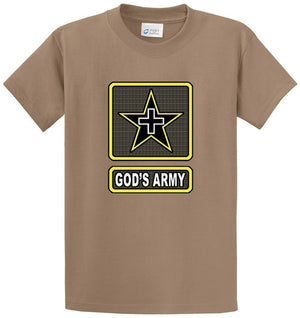 God's Army Printed Tee Shirt
