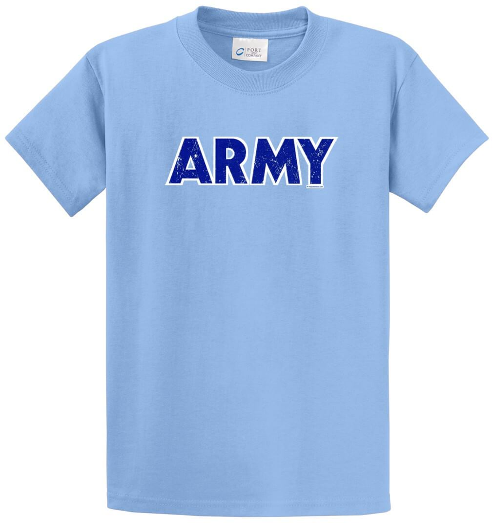 Army Printed Tee Shirt-1