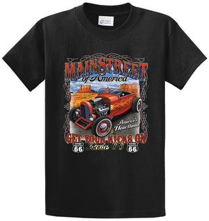 Mainstreet Of America Route 66 Printed Tee Shirt