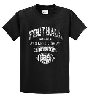Football Athletic Dept Printed Tee Shirt