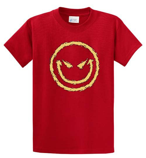 Smiley Printed Tee Shirt-1