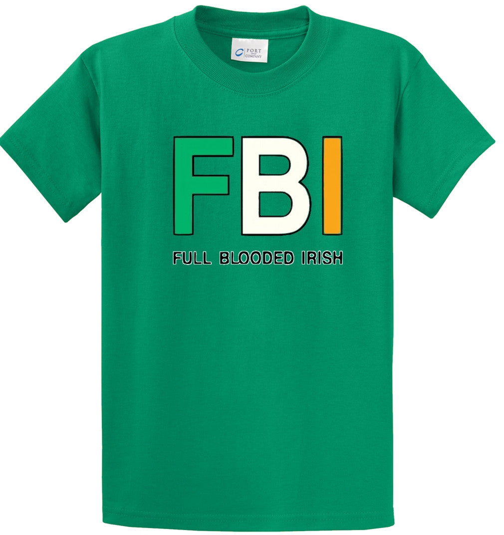 FBI Irish Printed Tee Shirt-1