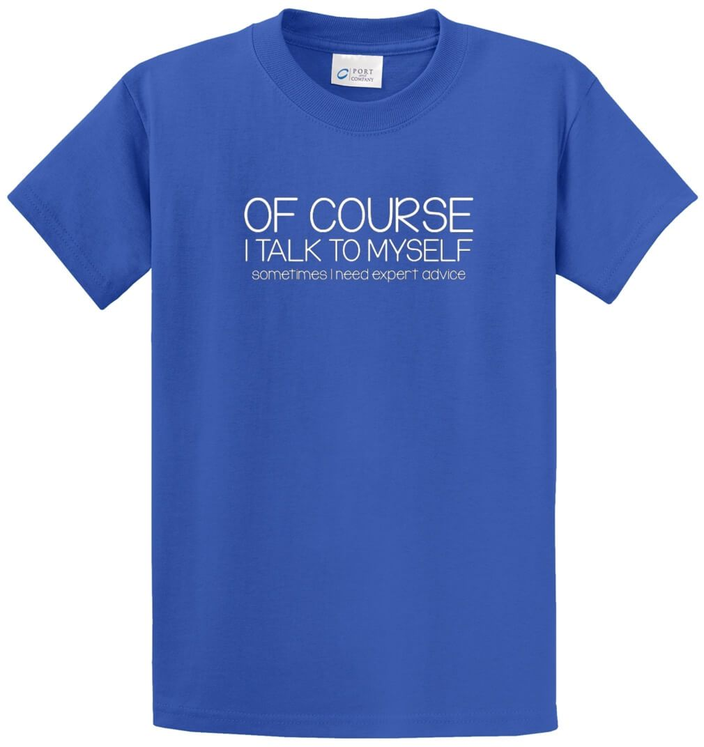 Expert Advice Printed Tee Shirt-1