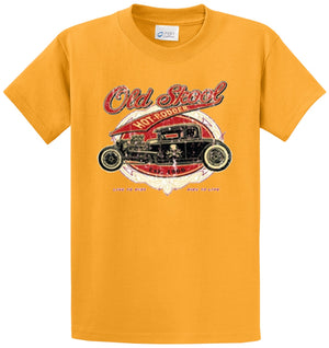 Old Skool Hot Rodder Printed Tee Shirt