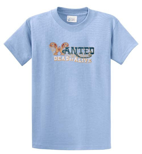 Wanted Printed Tee Shirt-1