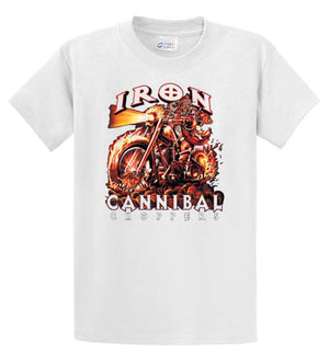 Iron Cannibal Choppers Printed Tee Shirt