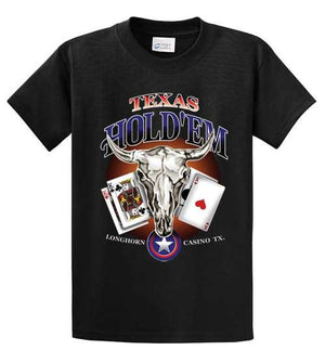 Texas Hold'Em Printed Tee Shirt