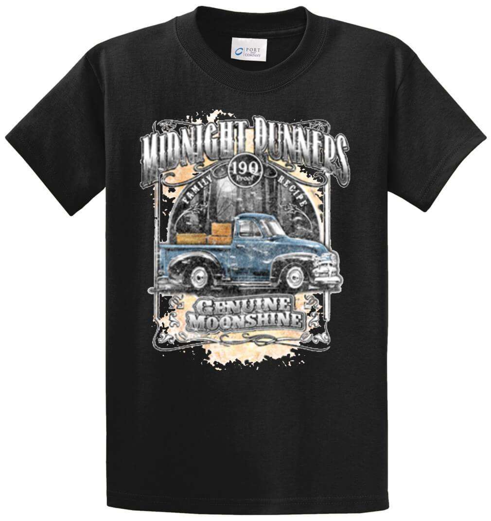 Midnight Runners Printed Tee Shirt-1