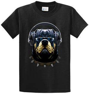 Cool Customer Rottweiler Printed Tee Shirt