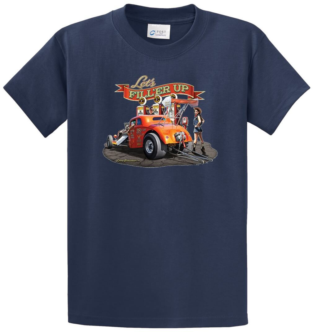 Lets Fill Er Up Printed Tee Shirt-1