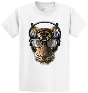 Freaky Tiger Printed Tee Shirt