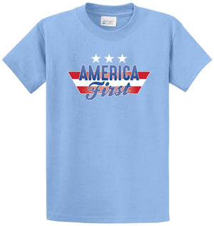 America First Printed Tee Shirt