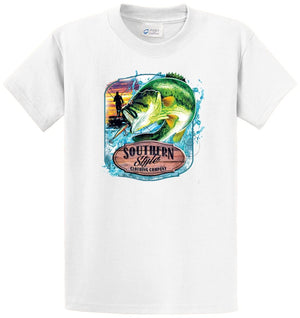 Bass Souther Style Clothing Printed Tee Shirt