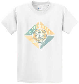 California Beach Printed Tee Shirt