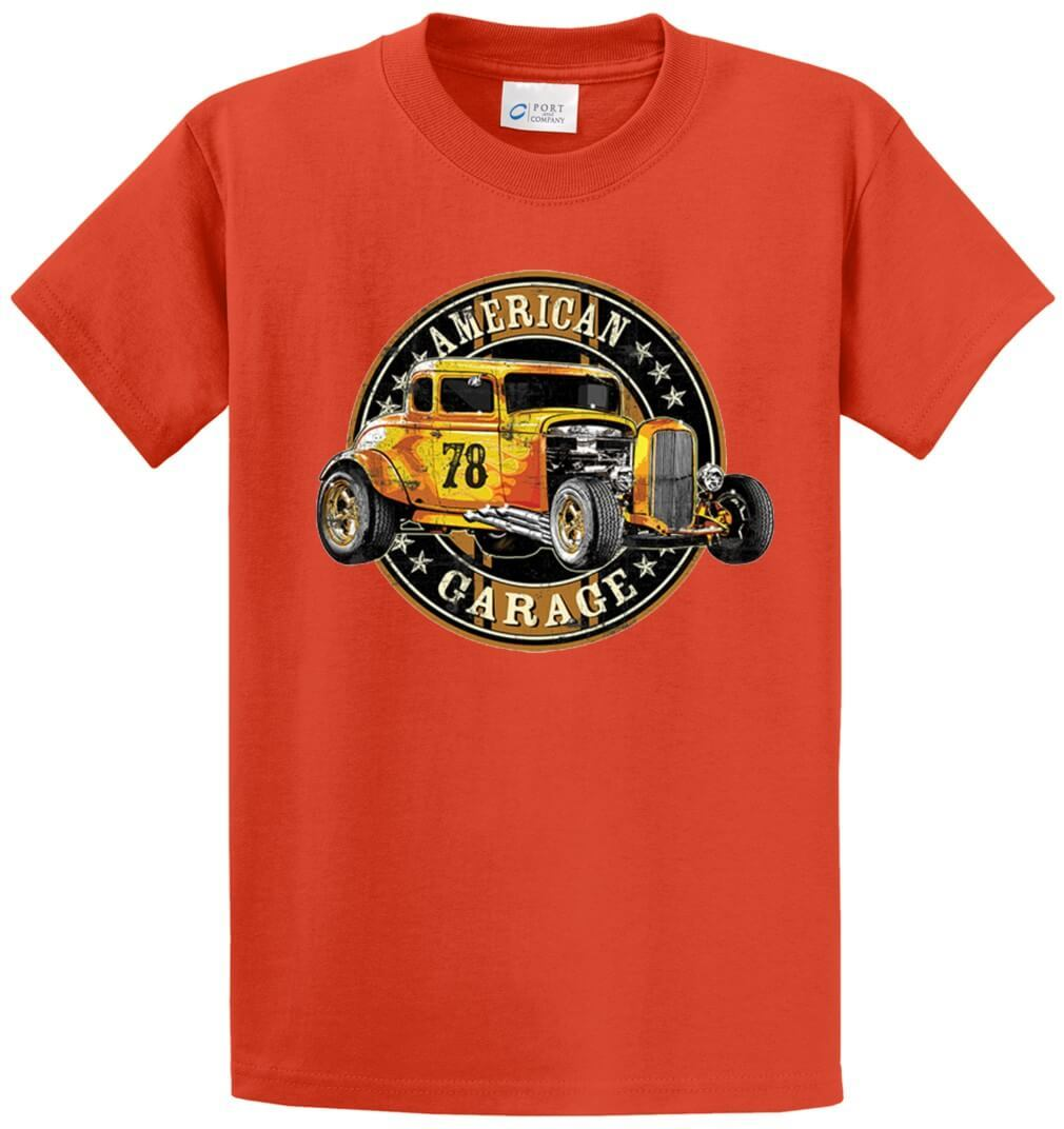 American Garage Hot Rod Printed Tee Shirt-1