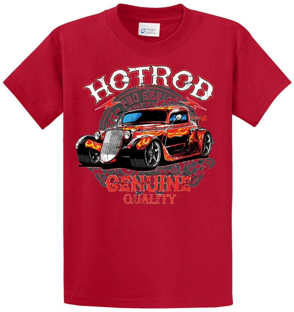 Hotrod Genuine Quality Printed Tee Shirt-1