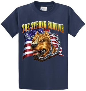 The Strong Survive Printed Tee Shirt