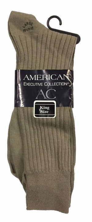 Men's Ribbed Dress Sock