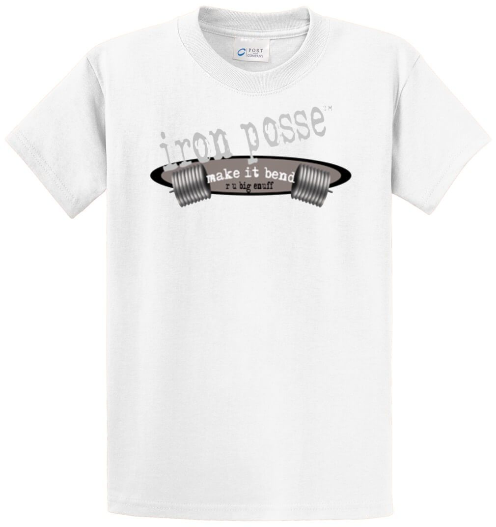 Iron Posse Printed Tee Shirt-1