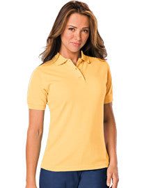 "Blue Generation Ladies' Short Sleeve ""Superblend"" Polo-1"