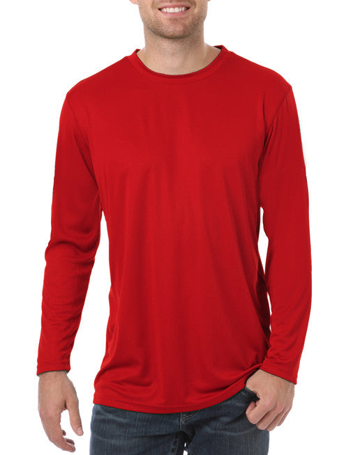Blue Generation Long Sleeve Wicking Tee-1