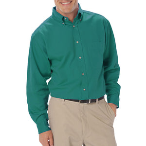 Blue Generation Men's Long Sleeve Cotton Twill Shirt