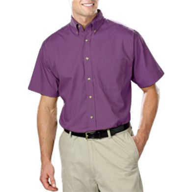 Blue Generation Short Sleeve Poplin Shirt Closeout-1