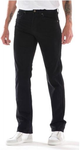 Full Blue Brand Men's Regular Fit Black Stretch Jeans