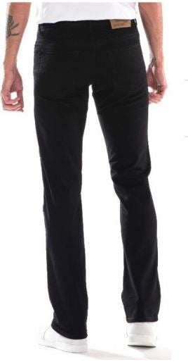 Full Blue Brand Men's Regular Fit Black Stretch Jeans-2