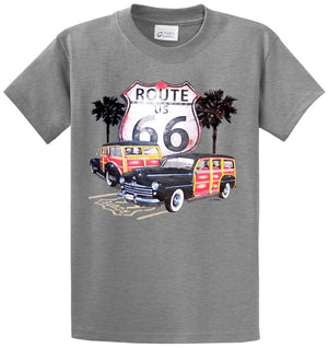 Route 66 Woodys Printed Tee Shirt