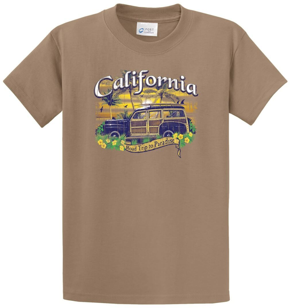 Woody California Printed Tee Shirt-1