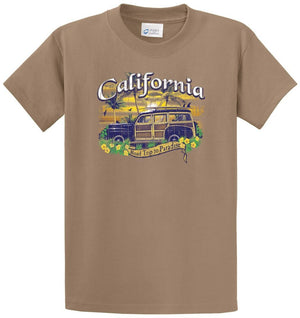 Woody California Printed Tee Shirt