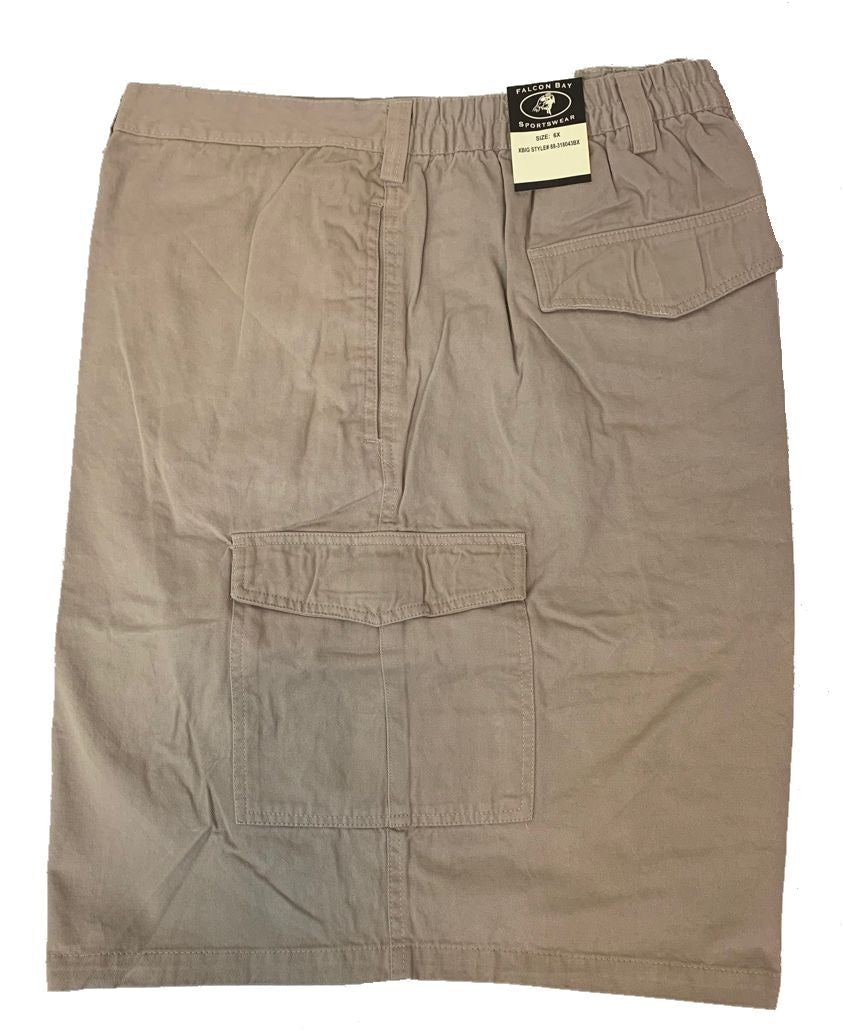 Falcon Bay Men's Half Elastic Cargo Short-2