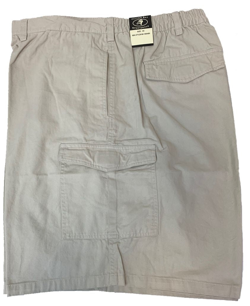 Falcon Bay Men's Half Elastic Cargo Short-3