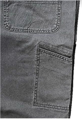 Full Blue Brand Men's Twill Cell Phone Pocket Short-4