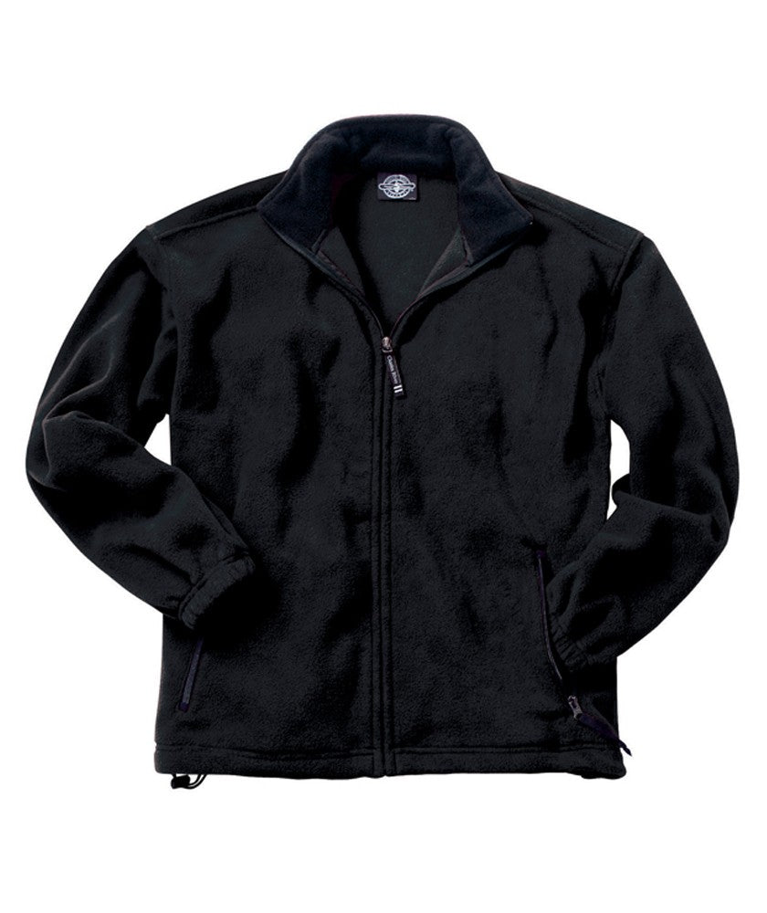 Charles River Apparel Men's Voyager Fleece Jacket Closeout-1