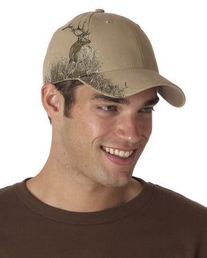 Dri Duck Brand Wildlife Embroidered Cap