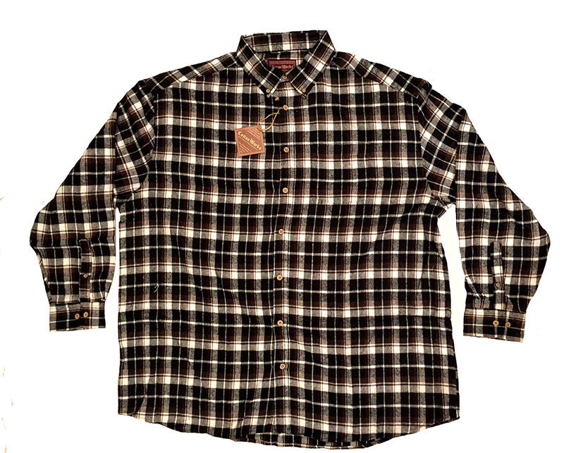 Falcon Bay Long Sleeve Plaid Flannel Shirt-2
