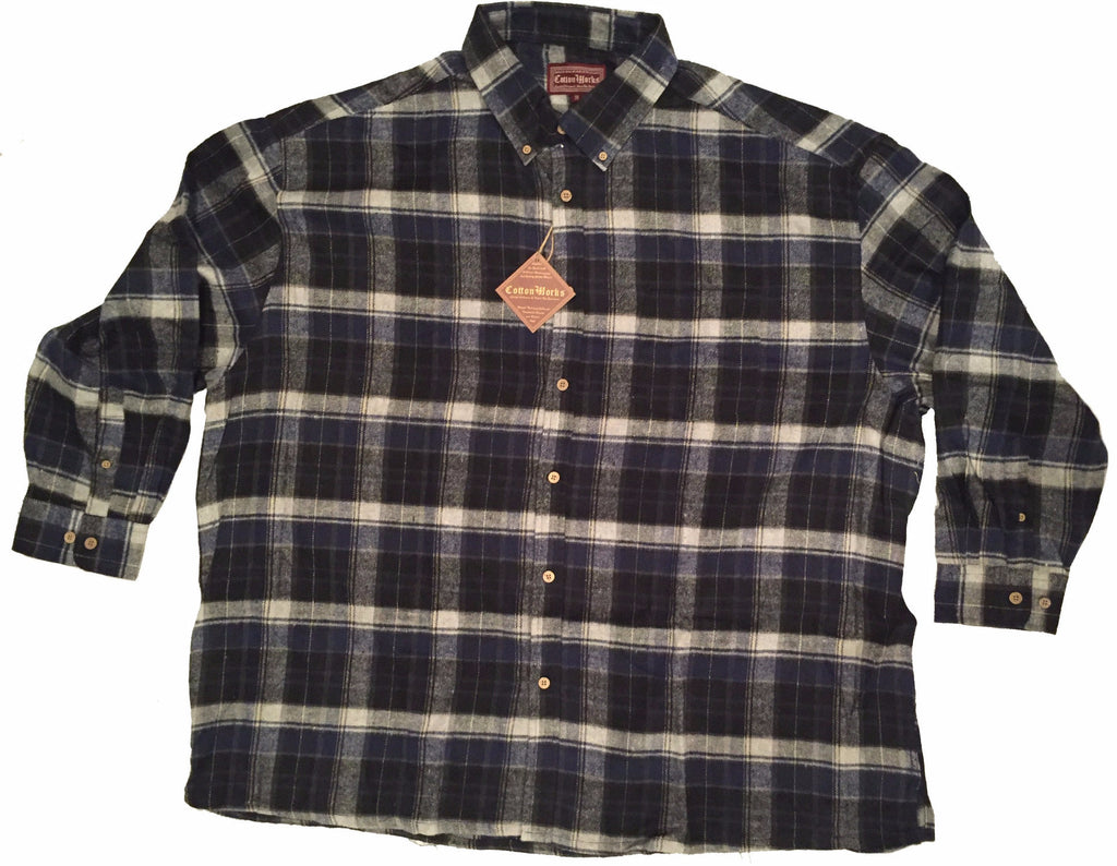 Falcon Bay Long Sleeve Plaid Flannel Shirt-1