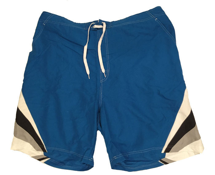 Falcon Bay Big Men's Swim Shorts With Chevron Design-2